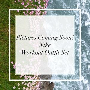 Like New Yellow Nike Workout Outfits